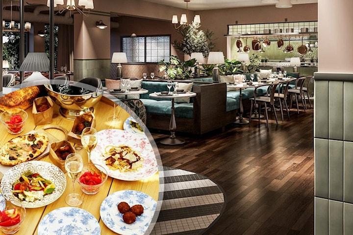 En natt för 2 inkl. frukostbuffé på mysiga Hotel Giò i Solna