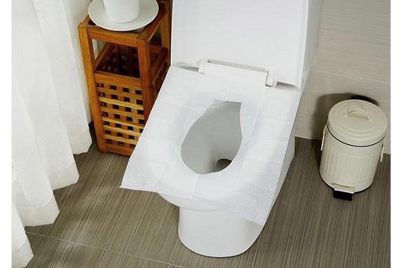 Toalett krok upp delar