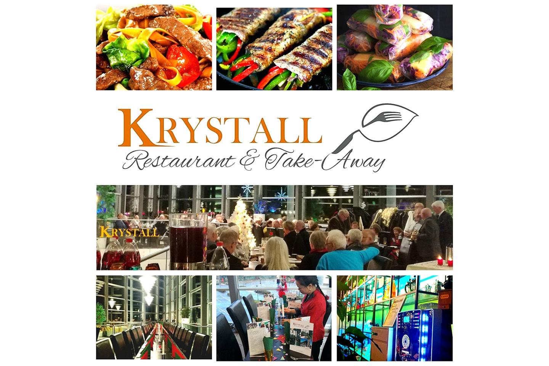 Indrefilet à la peking, med husets te hos Krystall Restaurant