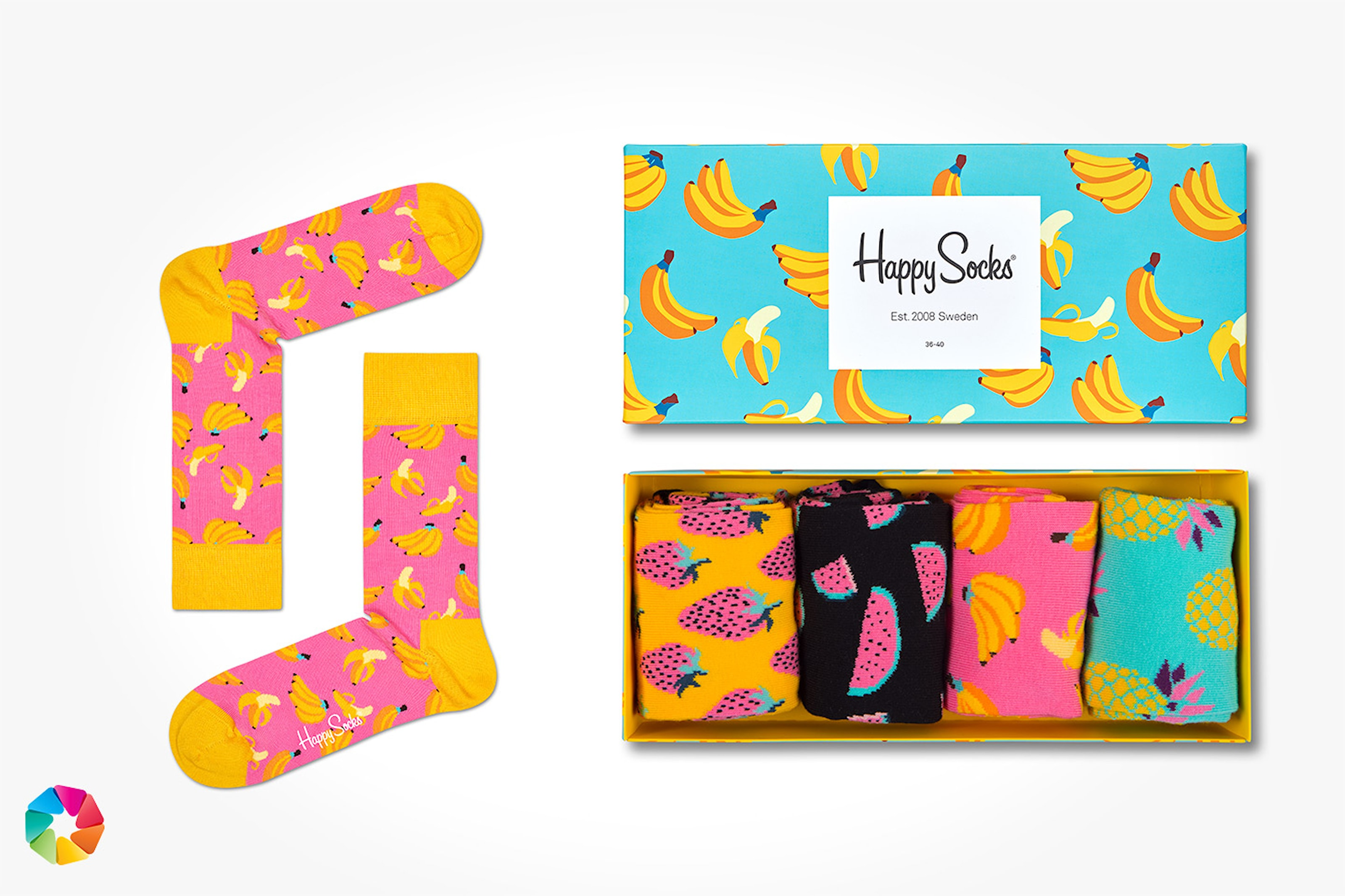 Giftbox från Happy Socks