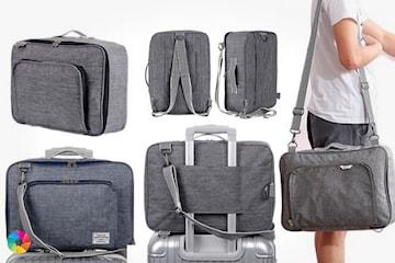 Multifunksjonell duffel bag