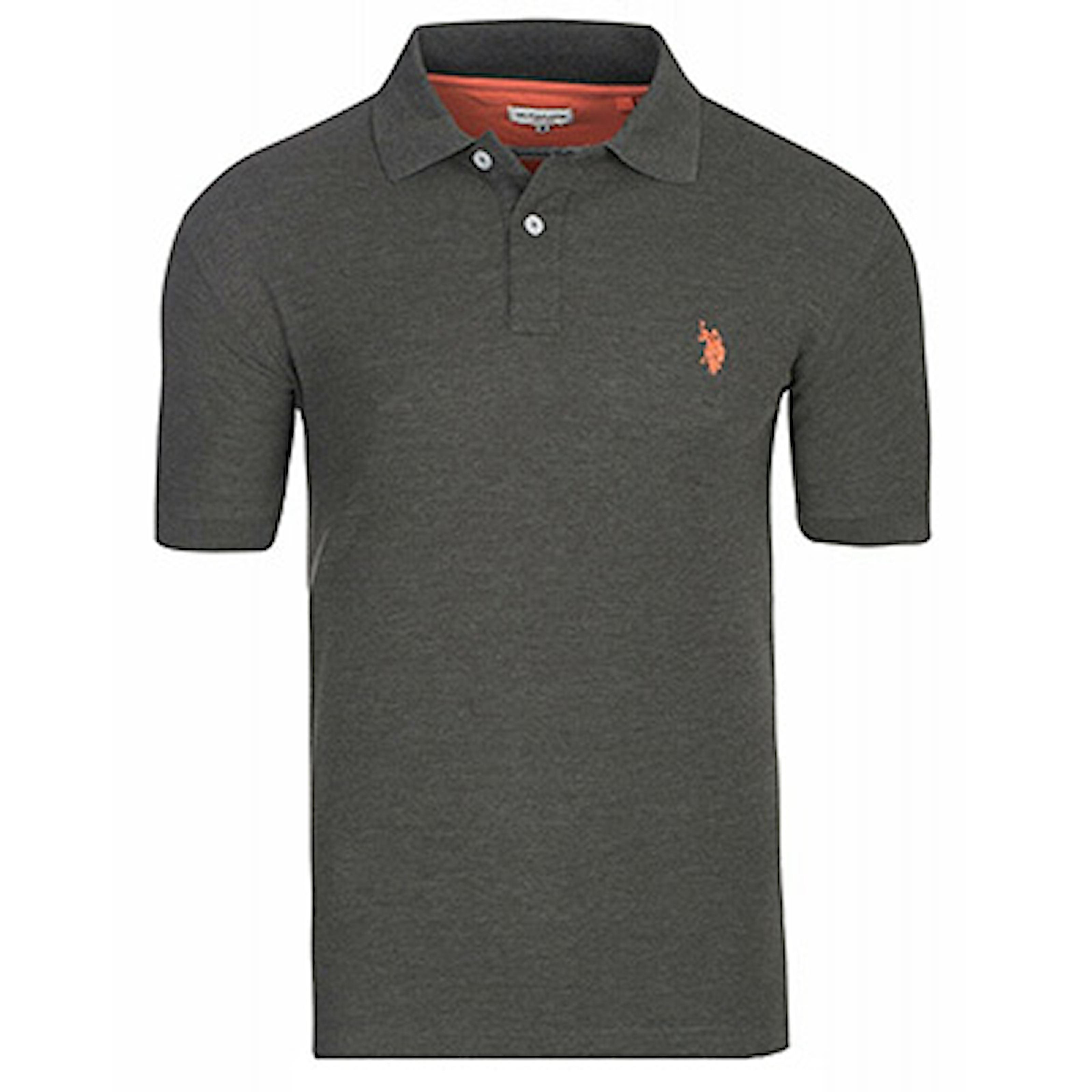 Anthracit, M, Us Polo Basic Polo Shirts, Piké Us Polo, ,