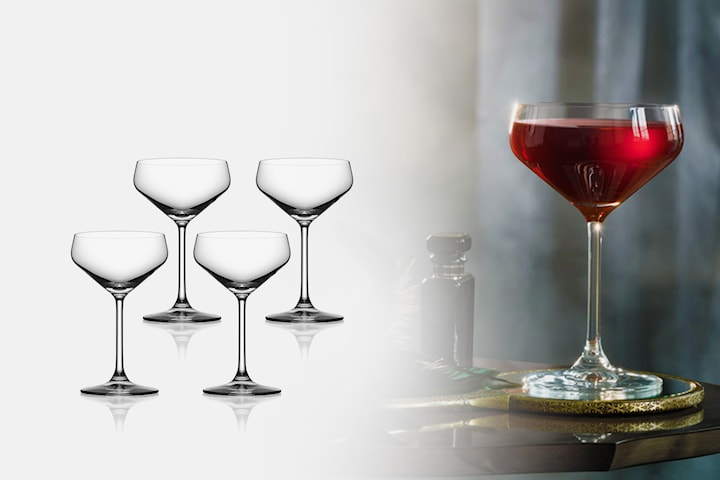 Orrefors Avantgarde cocktailglas 4-pack