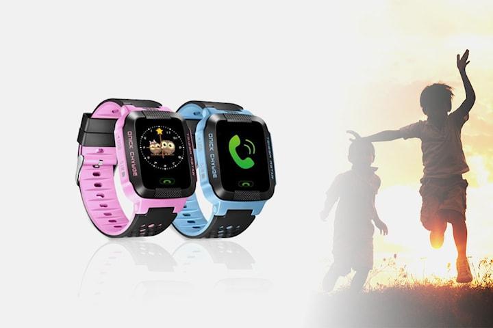 Klocka med GPS för barn