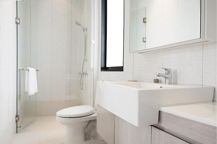 Komplett badrumsrenovering