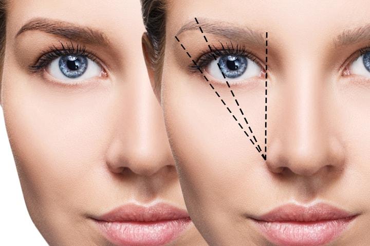 Färg och form av ögonbryn