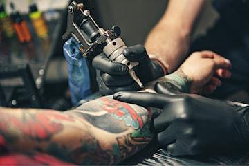 Presentkort på tatuering hos Vintage Tattoo