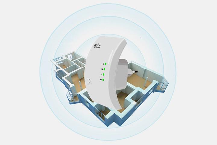 WiFi-förstärkare med lång räckvidd