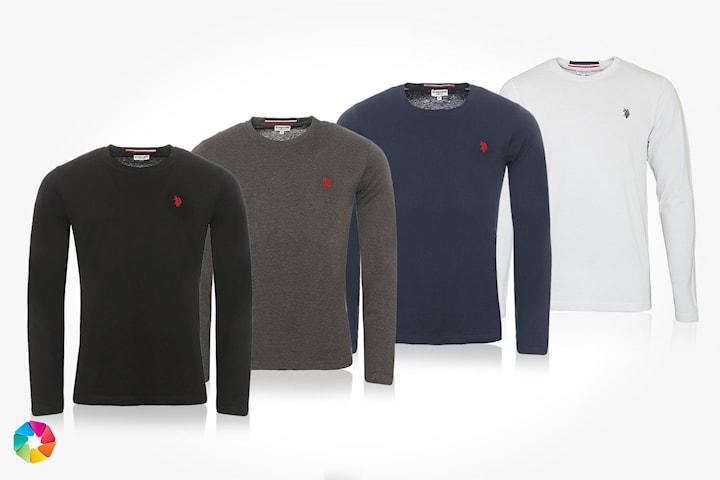 US Polo långärmad t-shirt