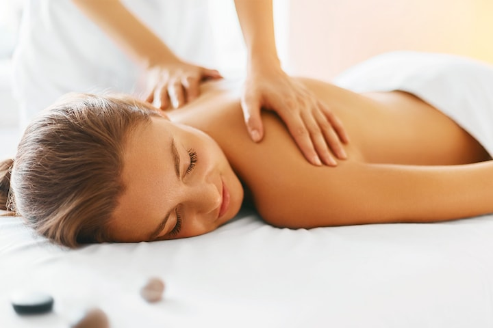 Massage hos Gudinneoasen