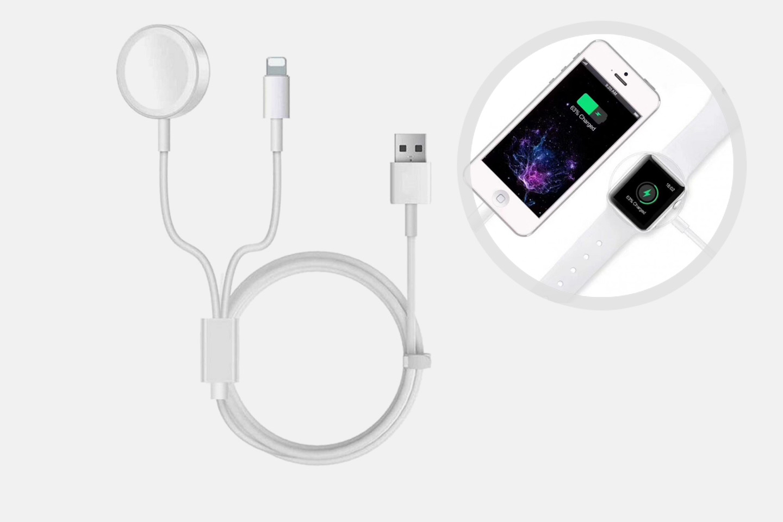 Laddare för iPhone och iWatch