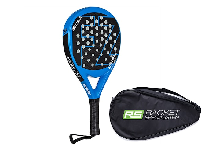 Padelracket FZ Forza Padel Spin Power, Ink fodral