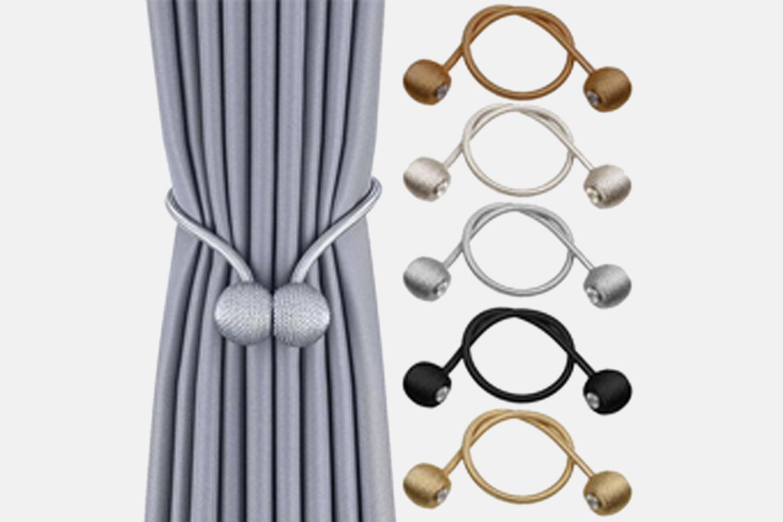 Magnetisk gardinbånd 2-pack (1 av 10)