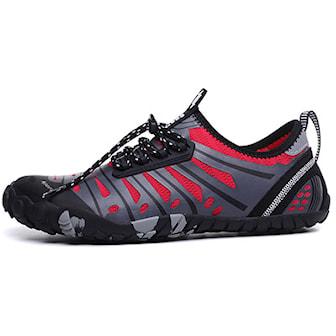 Röd, 44, Sports Beach Shoes, Lätt badsko, ,