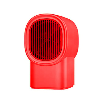 Rød, Portable Heating Fan, 3 Colors, Liten varmeovn, ,