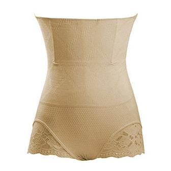 Khaki, M/L, Women Shapers, Shaper med blonder, ,