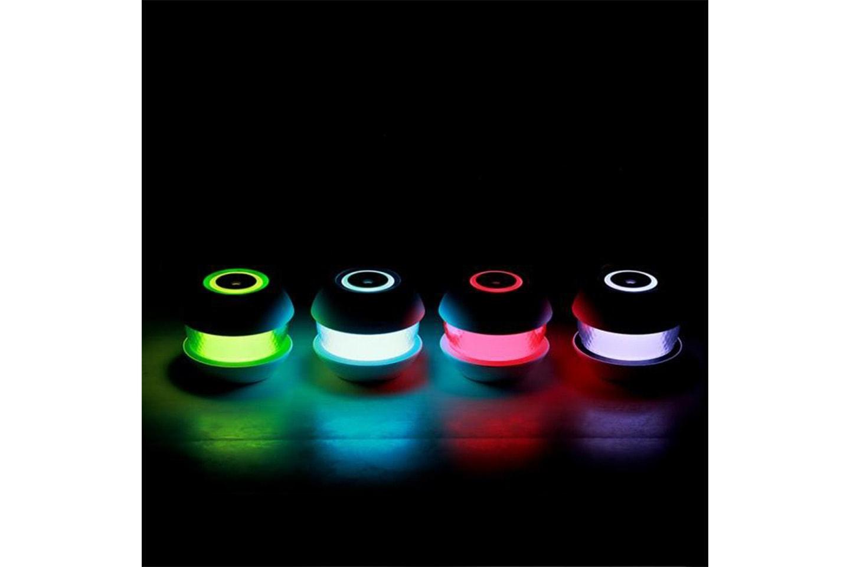 Luftfuktare med dekorativt ljus