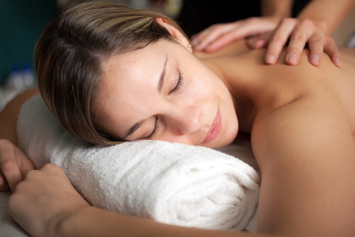 Traditionell kinesisk meridian detox massage