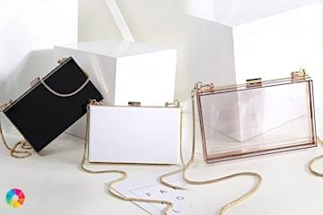 Minimalistisk handväska