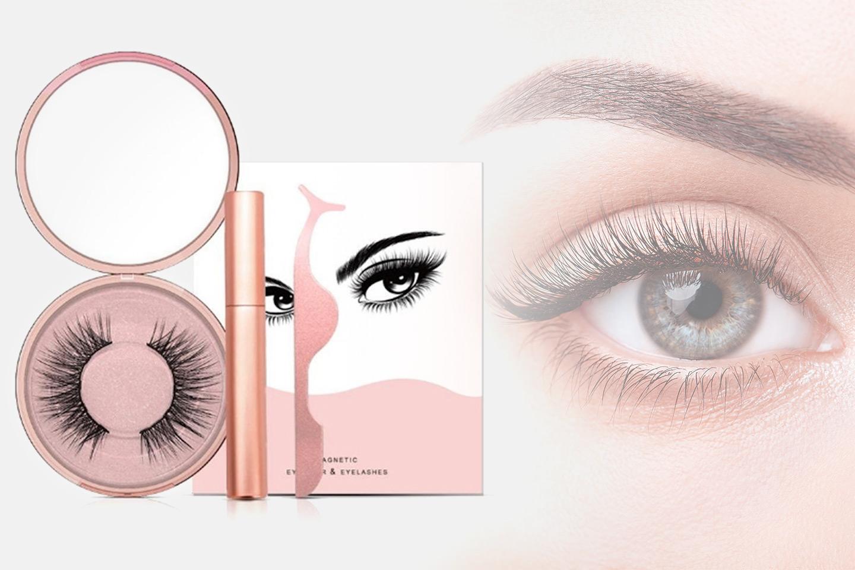 Magnetisk eyeliner og løsvipper (1 av 4)