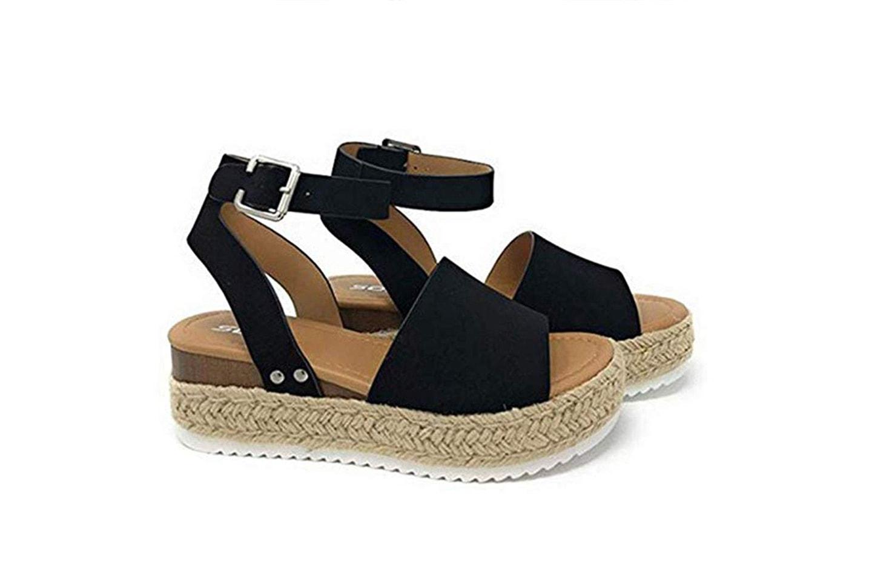Platform sandaler
