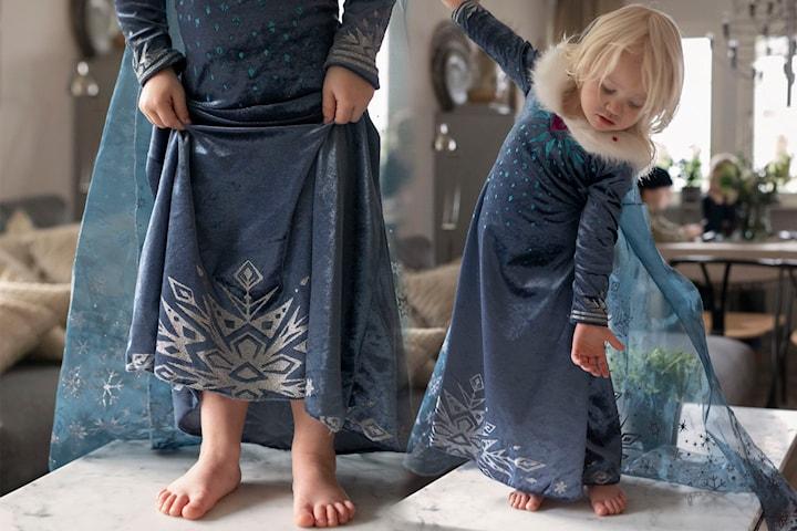 Blå kjole for barn