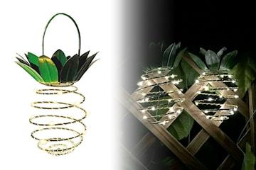 Ananaslampa med LED