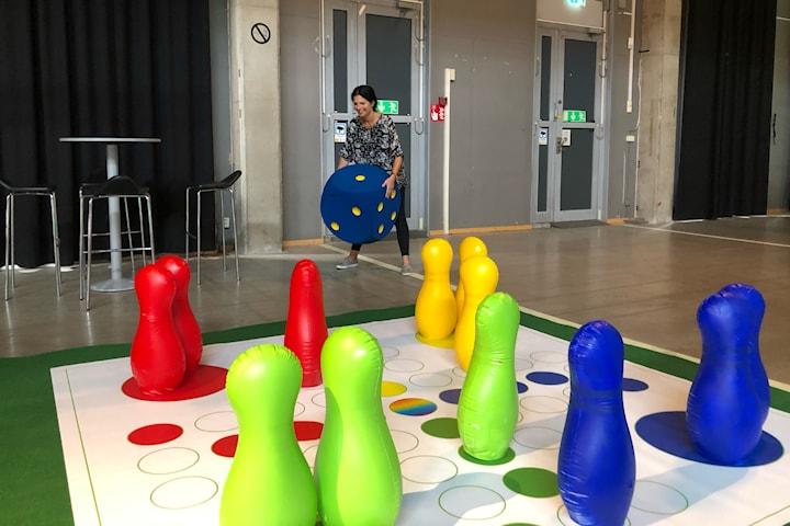 En annorlunda femkamp i Eriksbergshallen
