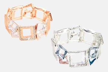 Armband med 40 stycken Swarovski-kristaller