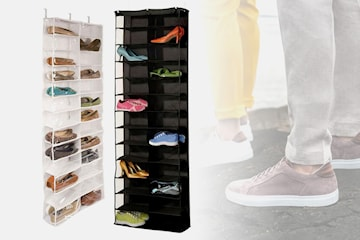Smart skooppbevaring med plass til 26 par sko
