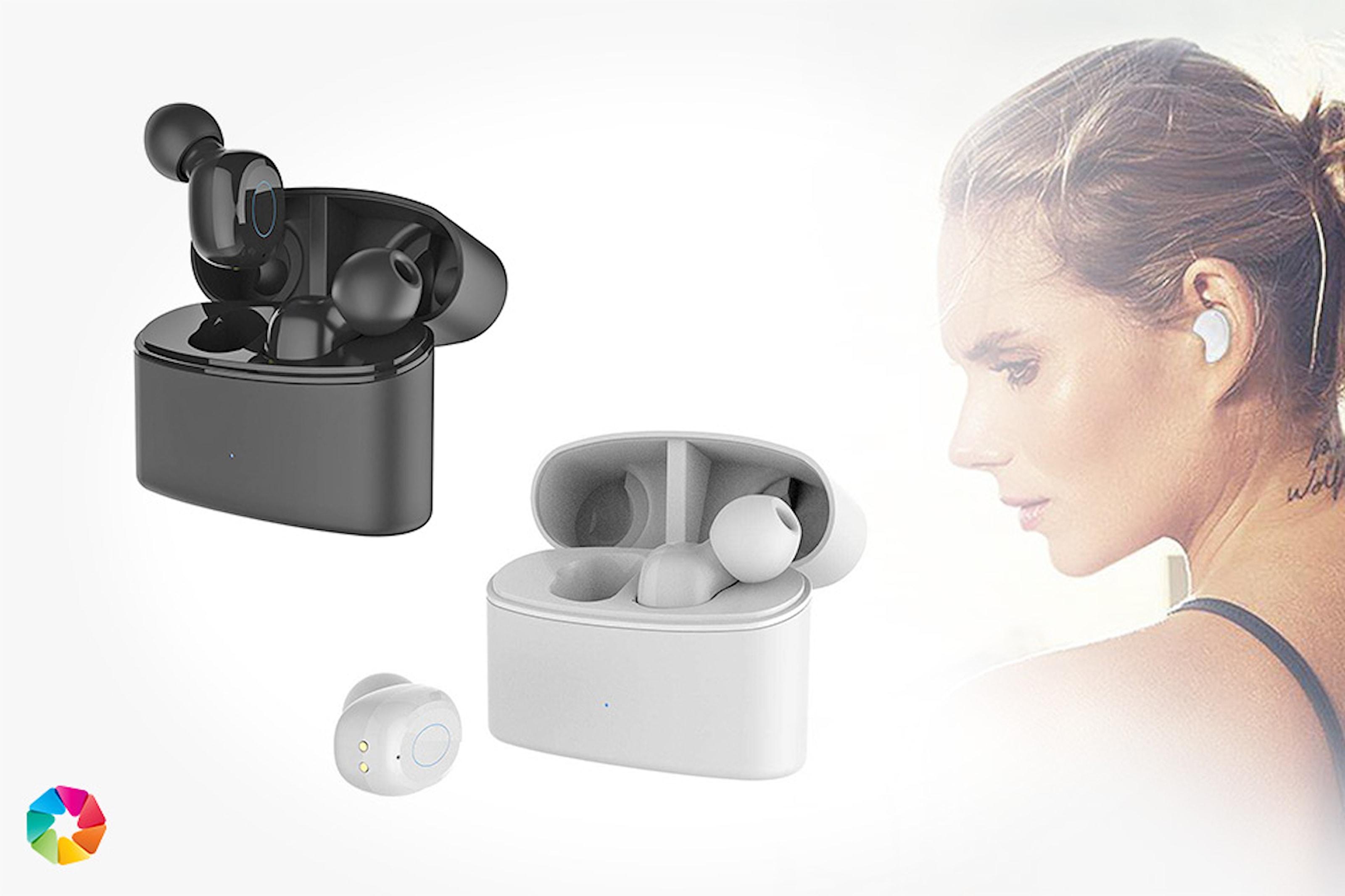 Ear-pods med laddningsetui