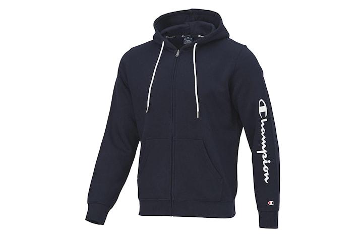 Champion Full Zip Hoodie - Navy