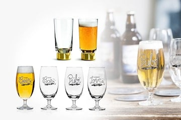 Sagaform Club ölglas 2- eller 4-pack