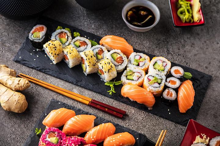 Sushi catering fra ti personer fra Fish Me
