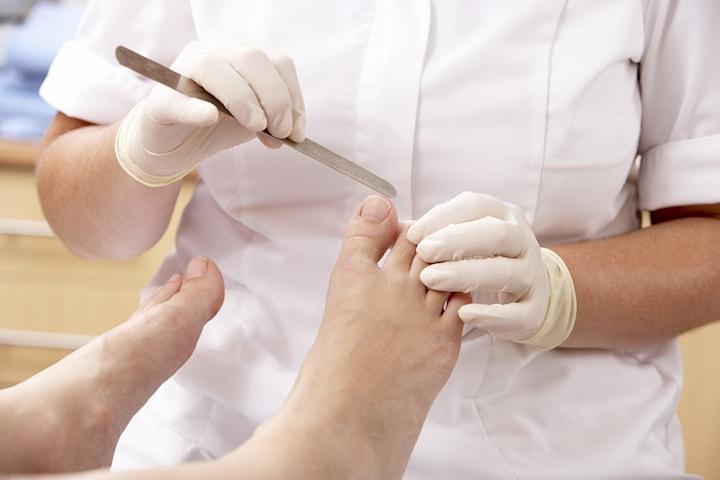 Medicinsk fotvård hos Improve skin