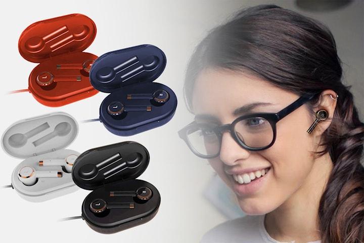 Trådløse Bluetooth-øretelefoner