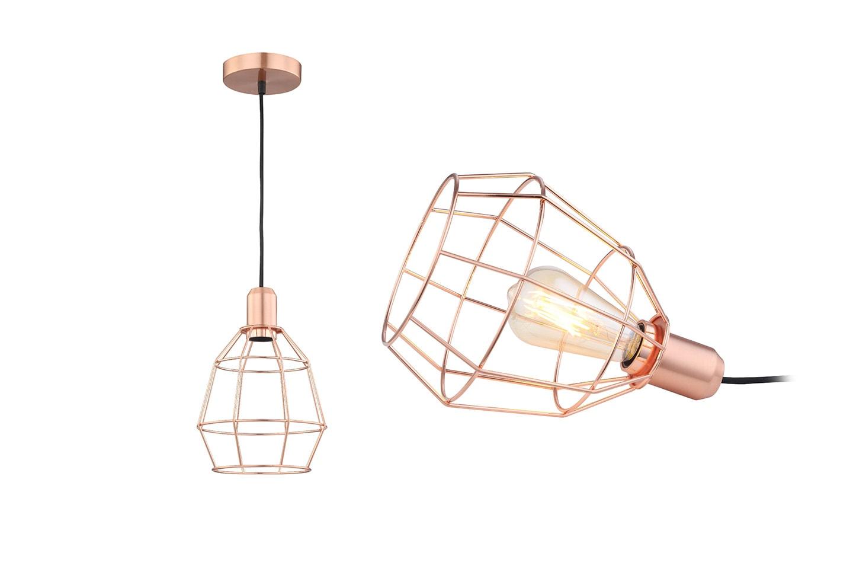 Lampa med industrikänsla