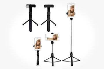 4-i-1 selfie-stick med tripod