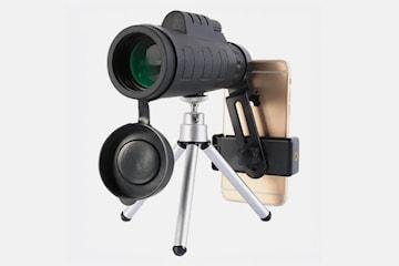 50 x 60 Teleskop til smarttelefon