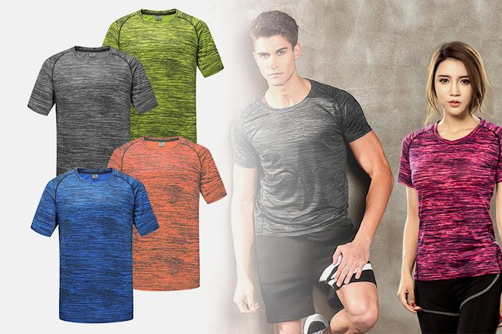 Snabbtorkande tränings-t-shirts