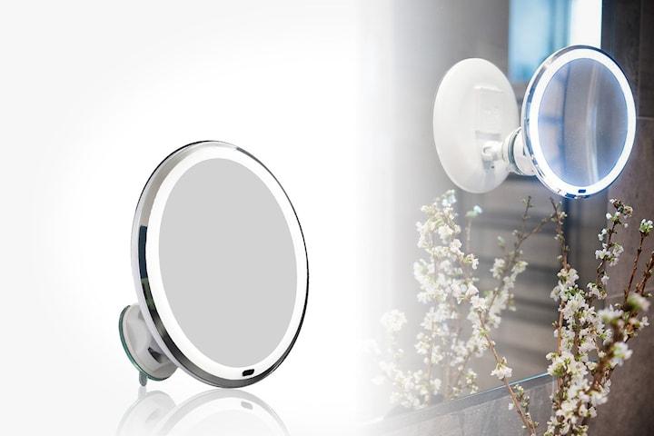 Duschy sminkspegel med LED-ljus