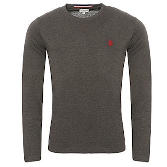 Anthracit, L, Us Polo Longsleeves, US Polo långärmad t-shirt, ,