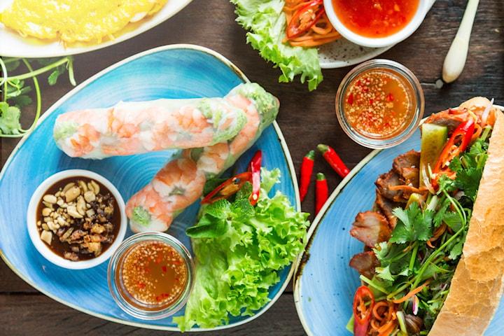 Valfri vietnamesisk rätt inkl. kaffe och dryck