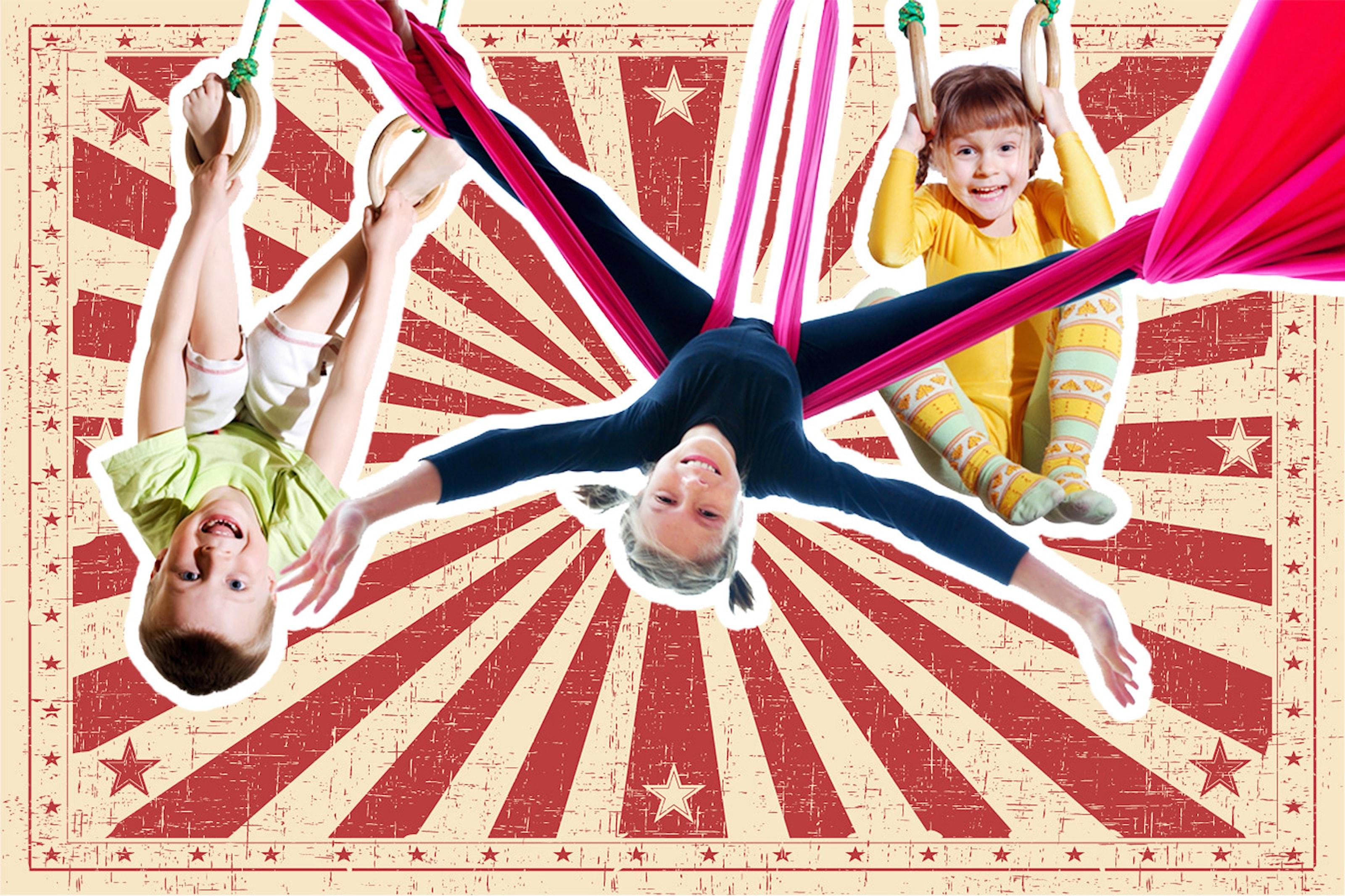 Prova på cirkusskola
