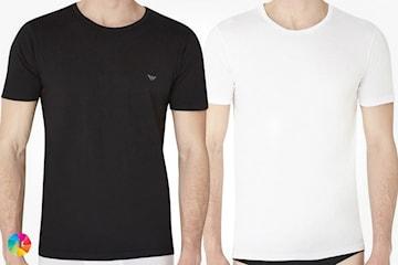 3-pack t-skjorter fra Armani
