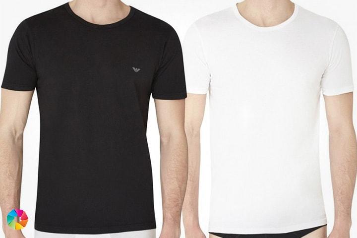 3-pack t-shirts från Armani