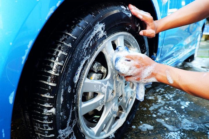In- och utvändig handtvätt