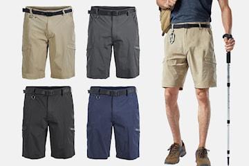 Shorts med bälte herr