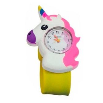 Gul, Unicorn Snap Watch, Klocka, ,