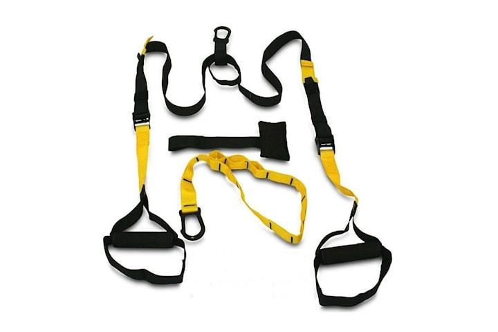 Multitrainer Gymband / Träningsrep med Tre Delar
